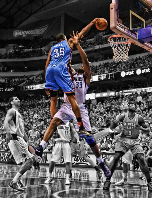 Oklahoma City Thunder v Dallas Mavericks - Game Two