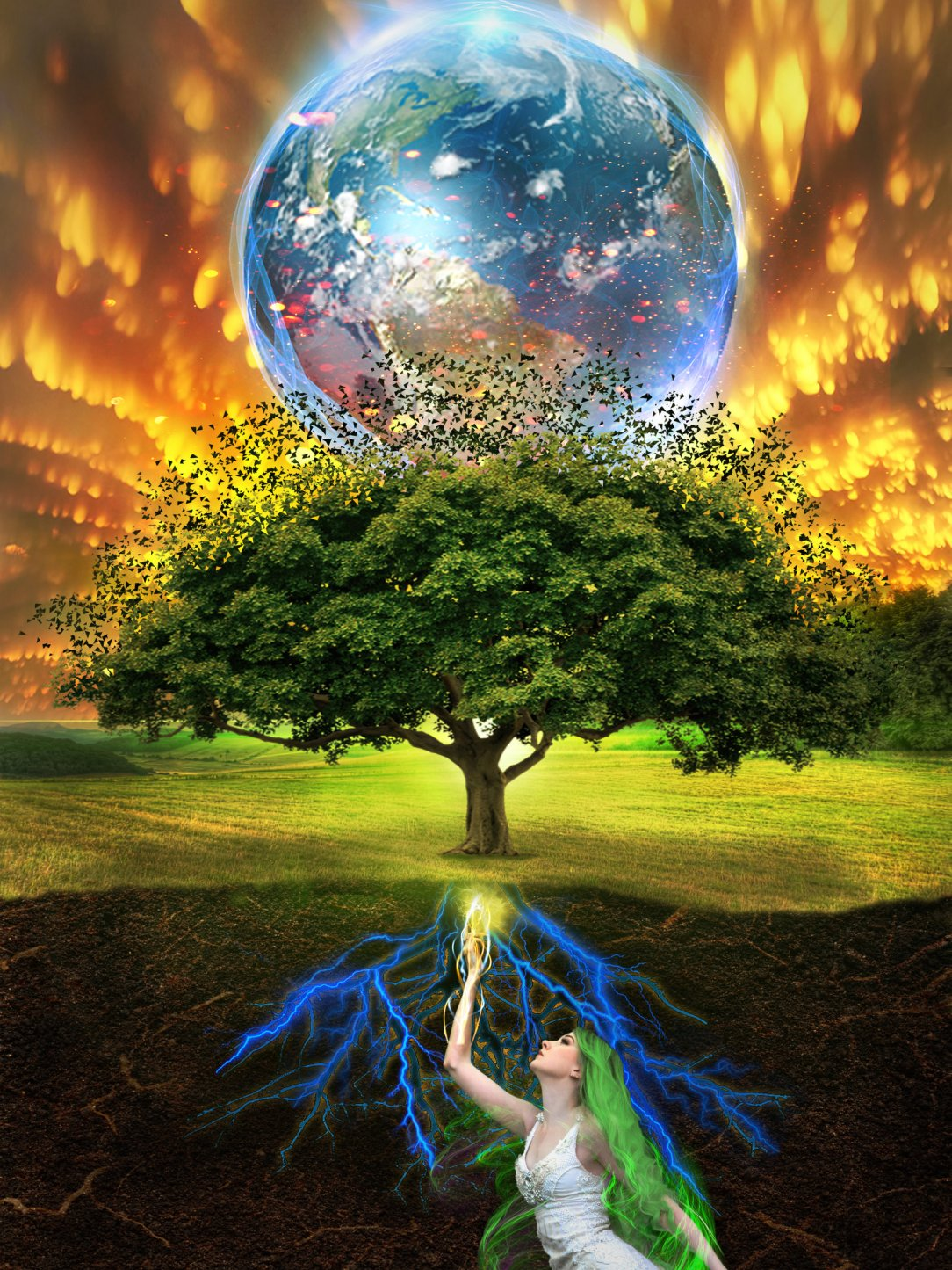 Her tree of life